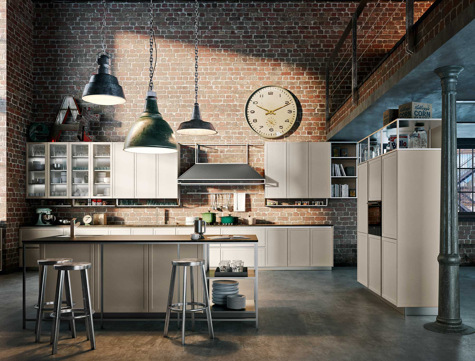 Cucina Florence Snaidero ~ Il Meglio Del Design D\'interni e Delle ...